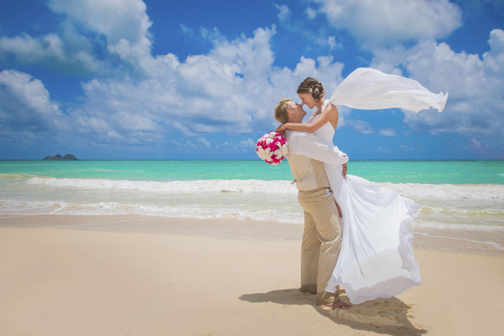 Hawaii Beach Wedding Travel design nozze